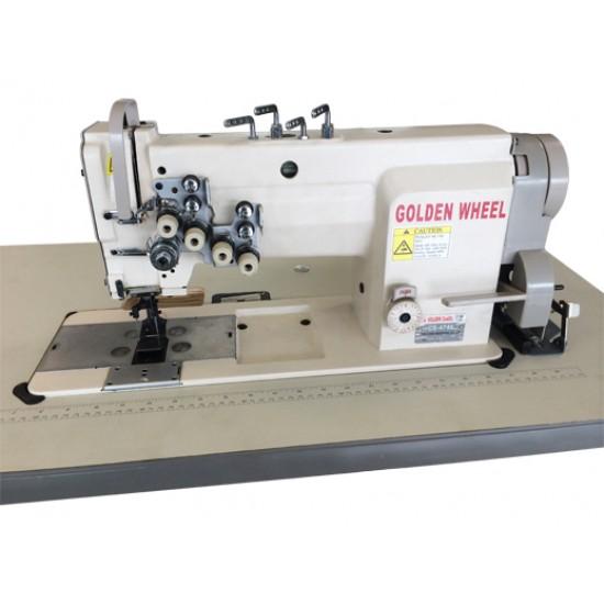Golden Wheel 4 İğne 4 Çağanoz Dikiş Makinesi