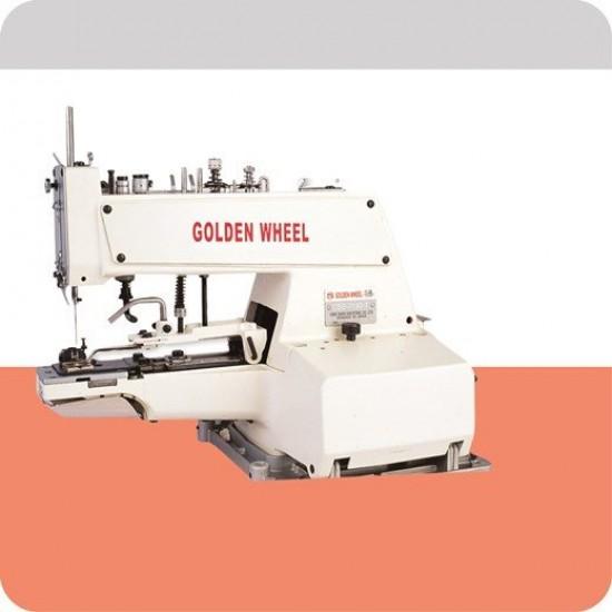 Golden Wheel Şemsiye Düğme Dikiş Makinası
