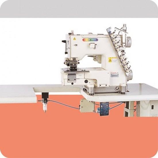 Golden Wheel Elektronik Transportlu 4-6 İğne Kot Kemer Makinası