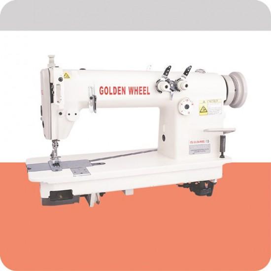 Golden Wheel Çift İğne Zincir Dikiş Makinası