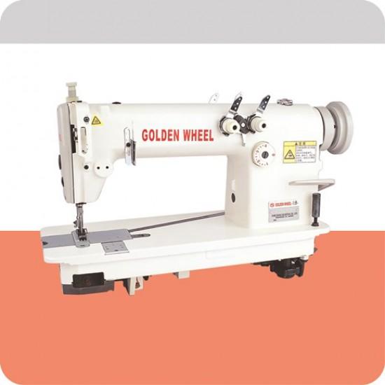 Golden Wheel Çift İğneli Zincir Dikiş Makinası (Arka Arkaya)